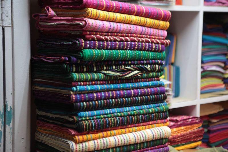 Multiple Layers shot taken in the Textile Bazaar, Udaipur, India EyeEm Best Shots India Udaipur. India