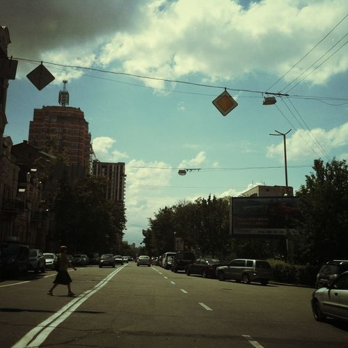 Streetphotography Kiev Down Town