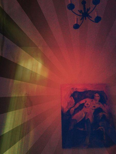 DenHaag, Art Good Morning Rotlicht DenHaag