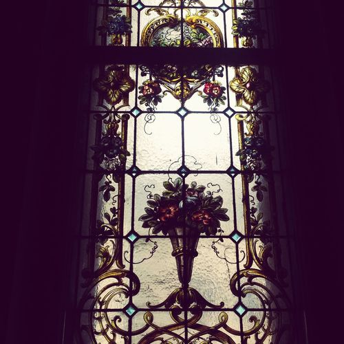 Витраж в доме Набокова набоков Window витраж House of Vladimir Nabokov Nabokov