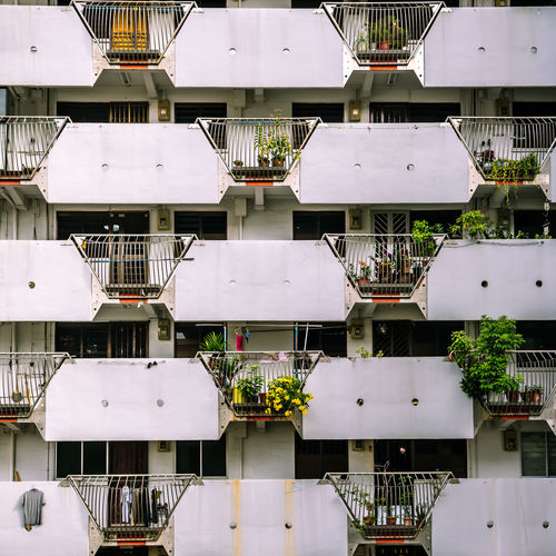 Facades of yesteryear - Public housing apartments. I went back. Architecture Building Exterior Built Structure Day No People Outdoors Residential Building Residential District Residential Structure The Architect - 2018 EyeEm Awards