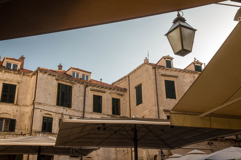 #croatia #dubrovnik Architecture Built Structure City Clear Sky Low Angle View Outdoors