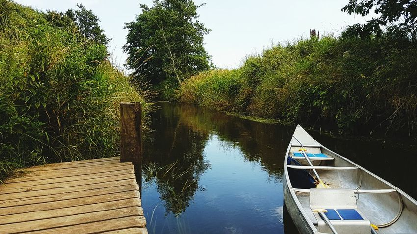 Paddling in Denmark Nature Nature Photography Denmark River River View Paddling Paddling Outdoors Water Reflections Boat Water And Landscape Landscape Samsung Galaxy S7