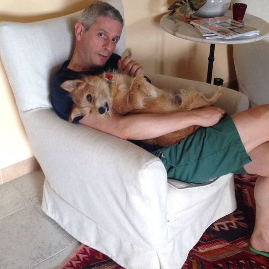 Relaxing Time Spino  Dog Love