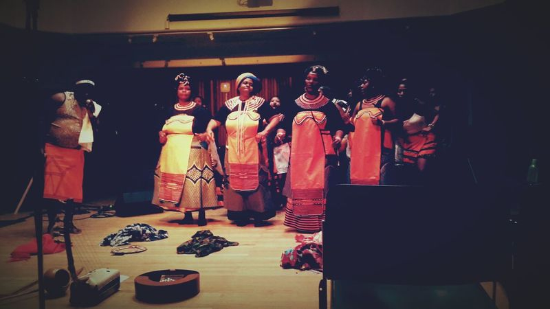 XhosaWomen UCT_SACM African Music Recital Traditional