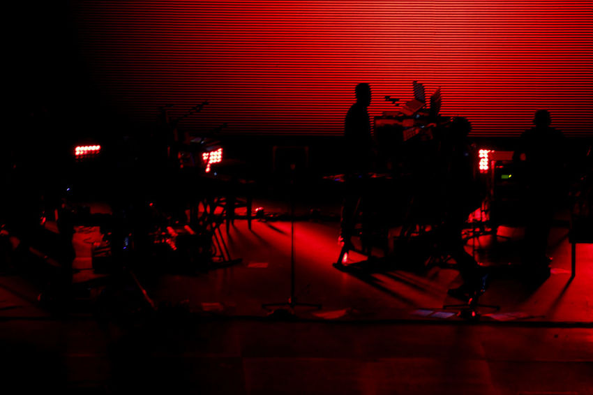 Red Nightlife Reflection Music Indoors  Illuminated Night Nightclub No People Clubbing Stage - Performance Space Performance Live Concert Naples Elettronica Italy Massive Attack Italia Napoli Live Music Dj Photo Musical Instrument Day