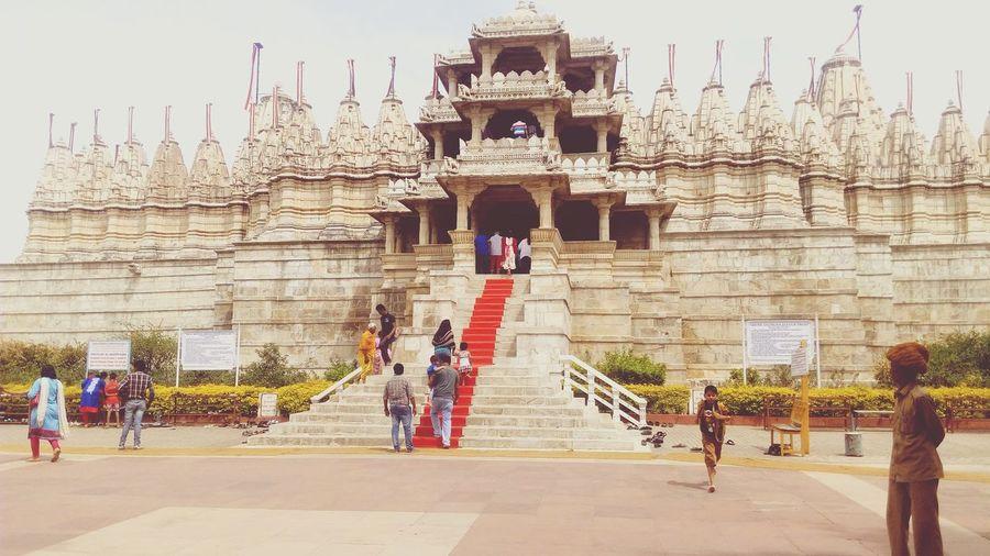Ranakpur Jain Temple Heritage Building Beauty Of Rajasthan