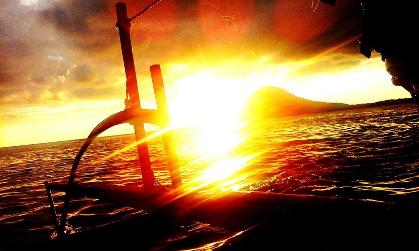 See Sunset Up Boats From Bunaken First Eyeem Photo