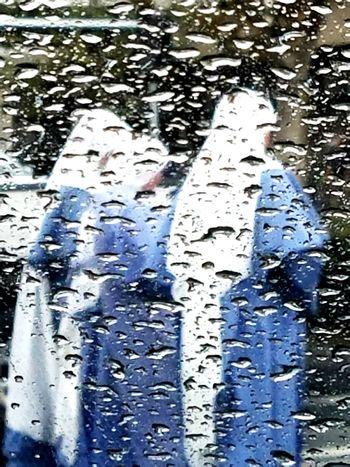 The Drive Sisters In The Rain Nuns In Rain Rain On Car Window Driving In The Rain