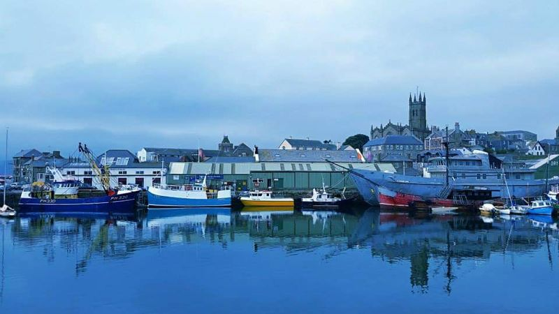 Serene Scene Calm Waters Water Reflections Calm Water Boats And Water Boats And Moorings Boats On Water Penzance  Boats⛵️ Boatsonthewater