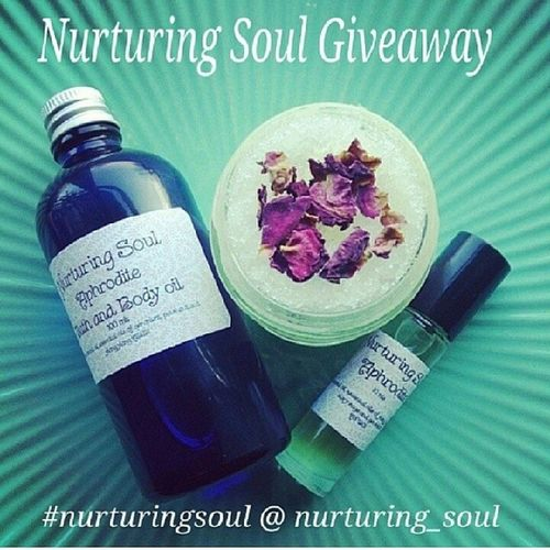 First time participating in a give away! I just couldn't help myself, this girl's products look like heaven! :) @nurturing_soul Nurturingsoul Heavenly Natural Want