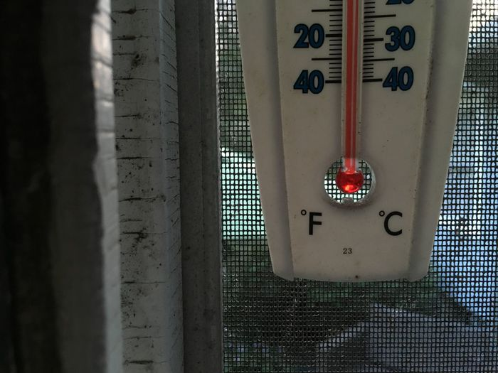 Indoors  Man Made Object No People Temprature Thermometer