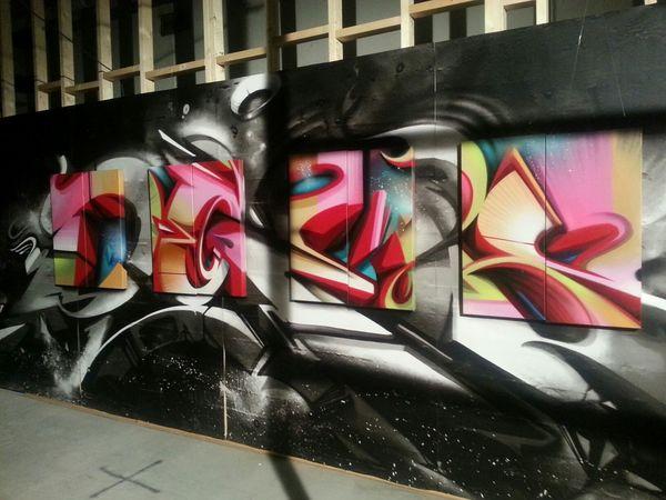 Graffiti Streetart Does Endless Perspectives