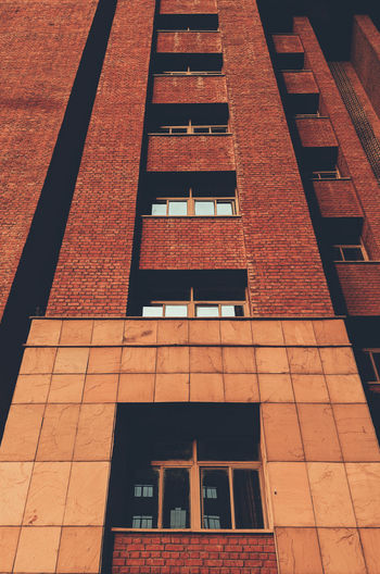 Window Architecture Red Built Structure Building Exterior No People Day Low Angle View Outdoors