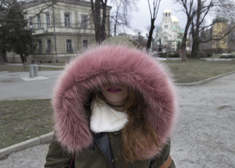Adult Alexander Nevski Cathedral Bulgaria Close-up Cold Temperature Day Focus On Foreground Jacket One Person One Woman Only One Young Woman Only Outdoors People Pink Pink Color Portrait Real People Sofia, Bulgaria Tree Warm Clothing Young Adult Young Women Women Around The World Millennial Pink Resist TCPM The Portraitist - 2017 EyeEm Awards The Portraitist - 2017 EyeEm Awards Let's Go. Together. Your Ticket To Europe The Week On EyeEm Connected By Travel An Eye For Travel Stories From The City