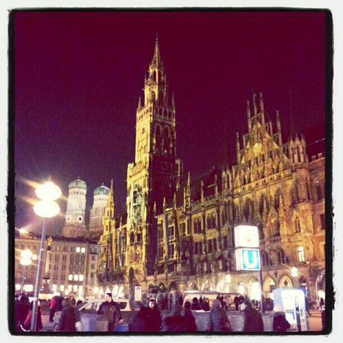 Architecture Shopping Munich Marienplatz