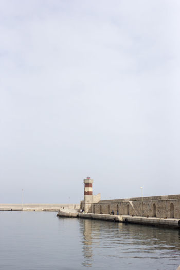 Lighthouse By Sea At Apulia