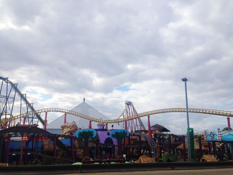 Fresh 3 Filter Amusement Park Sky Cloud - Sky Amusement Park Ride Leisure Activity Day Built Structure Fun Low Angle View Outdoors Enjoyment Simplistic IPhone Photography Iphonephotography Out Of The Window From Where I Stand Cloudy Day Out Skegness Ingoldmells