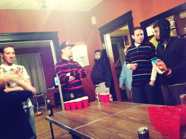 Beer Pong With My Niggas