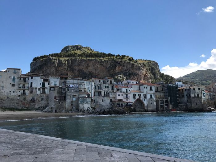 Coastal Town Coast Waterfront Rock Village Mountain Architecture View From The Sea Coastline Old Buildings Building Exterior Scenics Cityscape Being A Tourist