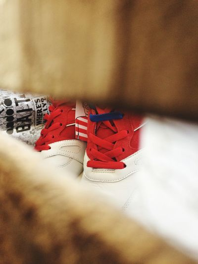 Out Of The Box Diadora Sneakers Red White And Blue Limited Edition In The Box 300 Where Is Waldo?  Inside The Box Where's Wally?