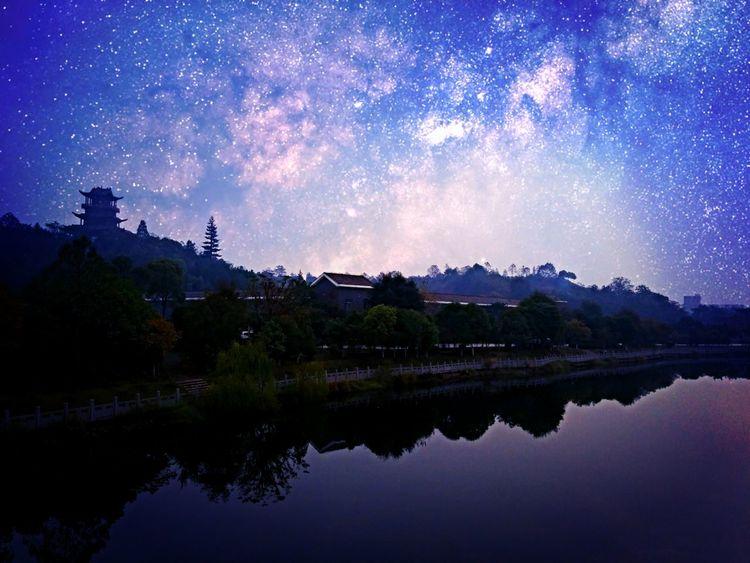 夜里最亮的星星