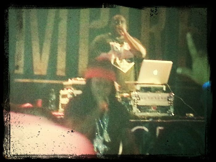 Can't Really Tell But This Is Ace Hood @Empire In Springfield, VA