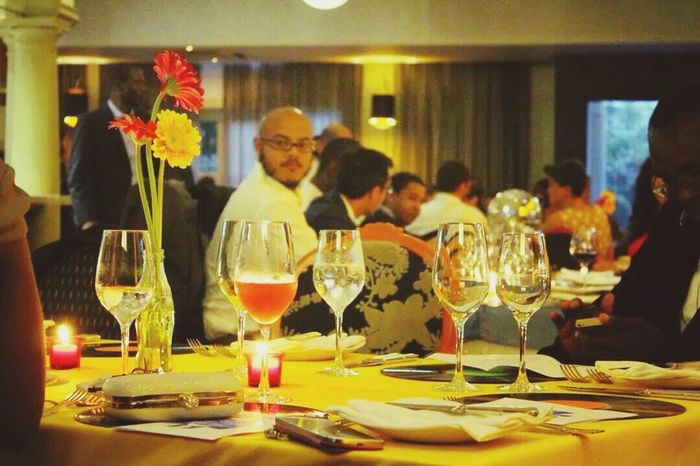 End of year Dinner 2014 with office colleagues Perspectives Wining And Dining
