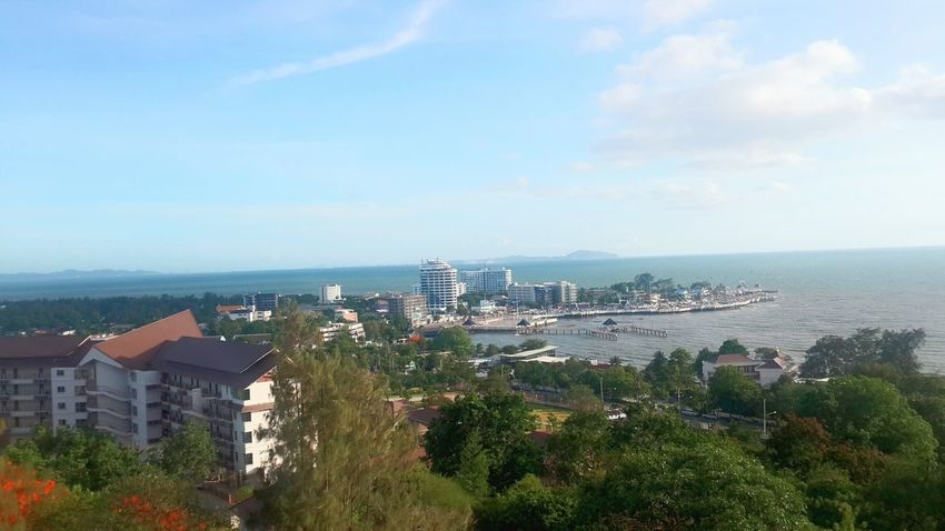 morning bae > day2 Sea View Morning Traveling Traveling In Thailand Chon Buri Bangsaen In My Way  BP