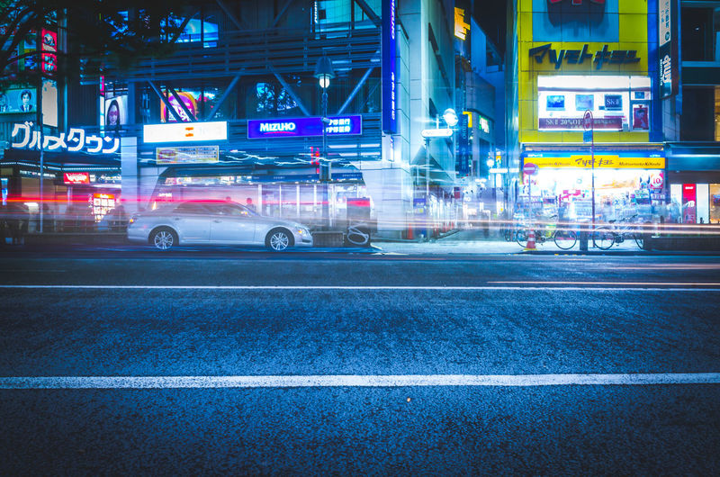 Cityscape Cyberpunk Futuristic Japan Lights Motion Blur Moving Shibuyascapes Tech The Creative - 2018 EyeEm Awards The Street Photographer - 2018 EyeEm Awards Tokyo Architecture Atmospheric Mood Blue Blur Blurred Motion Building Exterior Built Structure Car City City Life City Street Illuminated Land Vehicle Marking Mode Of Transportation Mood Motion Motor Vehicle Neo Tokyo Neon Night Nightlife No People Outdoors Road Road Marking Sign Speed Street Symbol Technology Transportation Urban