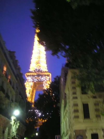 Paris Night Architecture Built Structure Illuminated Building Exterior Low Angle View Travel Destinations History No People Outdoors Christmas Decoration City Sky