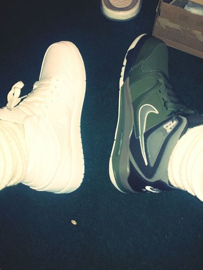 Feet Take Flight.