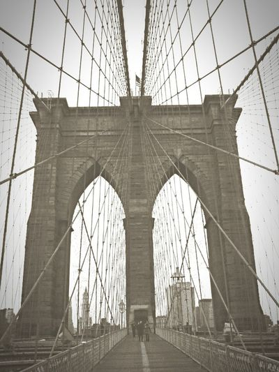 Brooklynbridge NYC Hanging Out Landscape_Collection Eye4photography  Eyem Best Shots - Black + White Architecture Urban Landscape Seeing The Sights EyeEmBestPics Mobilephotography EyeEm Best Shots The Street Photographer - 2016 EyeEm Awards MonochromePhotography The Street Photographer - 2017 EyeEm Awards BYOPaper!