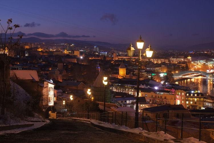 Tbilis at dawn
