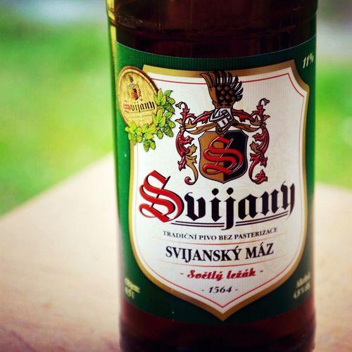 Beer in the garden Nikonphotography Photooftheday Beer Svijany