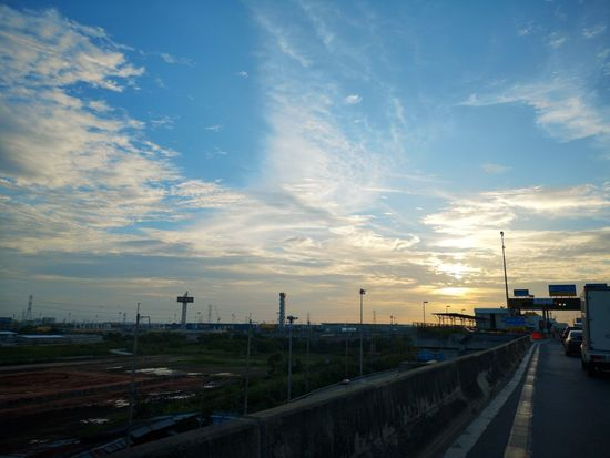 Huaweip20pro Sunset Blue Sky Original
