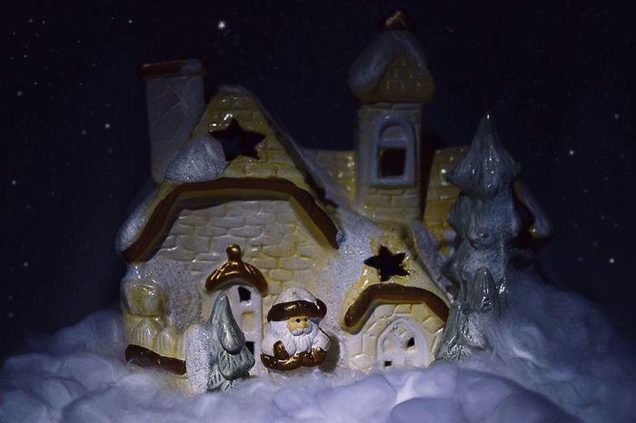 Please subscribe me to instagram:www.instagram.com/anastasiyachikalova/ Grandfather Frost Santa атмосфера Atmosphere Atmospheric Mood Winter Wintertime зима Fotoshop дом Snow снег звезды Stars