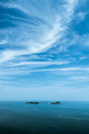 Beauty In Nature Blue Cloud - Sky Day Horizon Over Water Iceberg Nature No People Outdoors Scenics Sea Sky Tranquil Scene Tranquility Water Waterfront