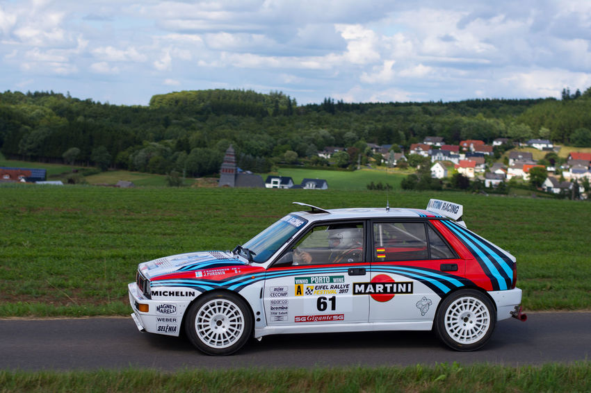 Eifel-rallye-festival Rallye Car Car Close-up Integrale Lancia Delta Outdoors Rallye Sports
