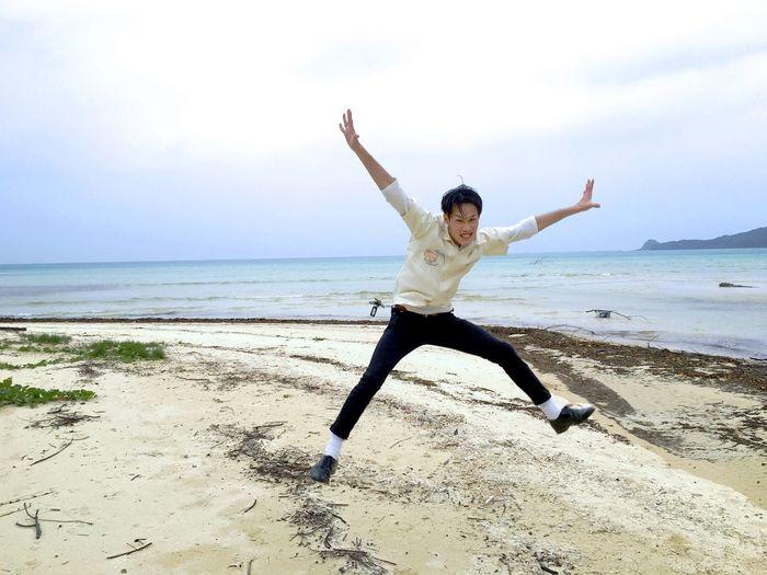 OKINAWA, JAPAN Ishigaki  Ishigakijima Ishigaki Island Jump Jump!