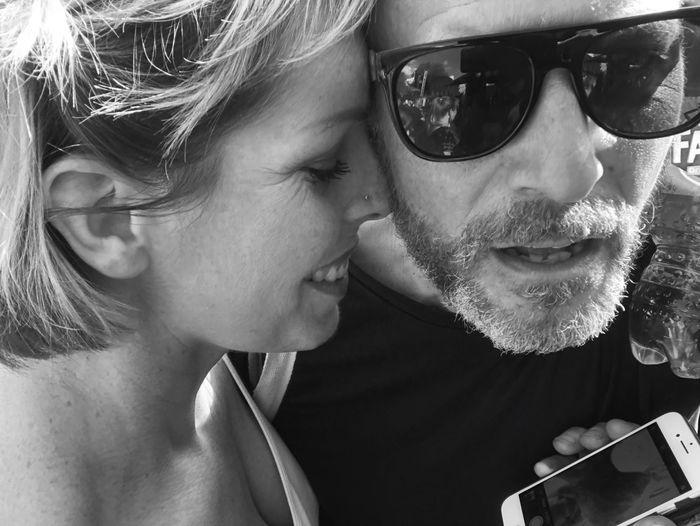 Loving life!! Sunglasses Glasses Two People Fashion Portrait Headshot Adult