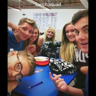 Lunch squad we're cool