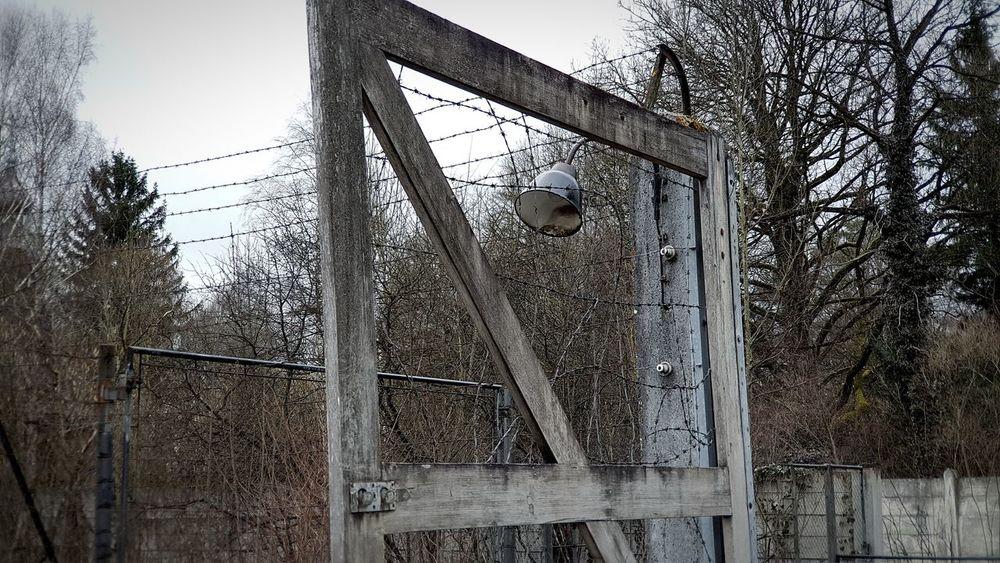 KZ Dachau Gedenkstätte Darkness Stacheldraht Old Buildings Old German History