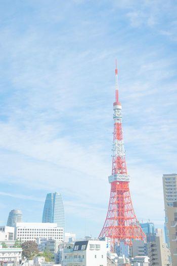 Japan Japan Photography Like4like Nikon D600 Sky Tokyo Tower 東京 東京タワー