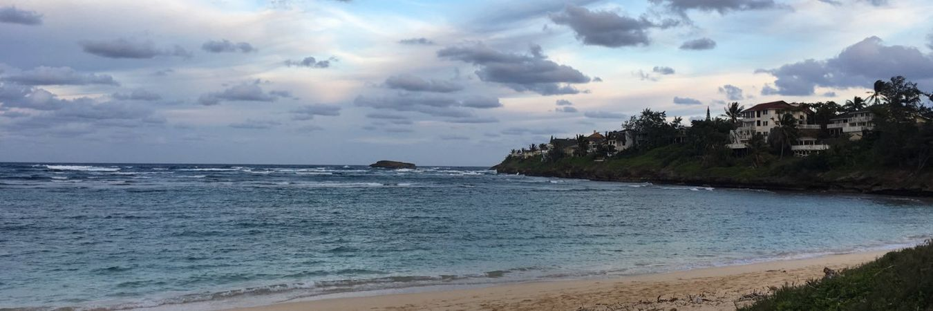 Take me to the beach someday Beach Sea Landscape Water Outdoors Scenics No People Nature Beauty In Nature Day Laie Oahu Hawaii Love