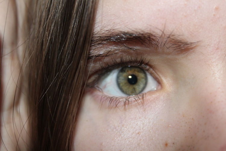 Eye Human Eye Human Body Part Eyelash One Person One Woman Only People Only Women Green Eyes First Eyeem Photo