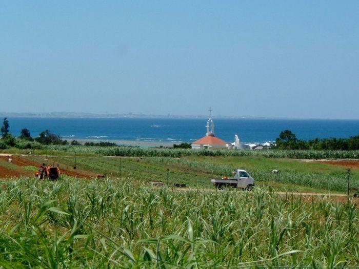 沖縄県 ( Okinawa )の 読谷村 ( Yomitan Village )の風景です