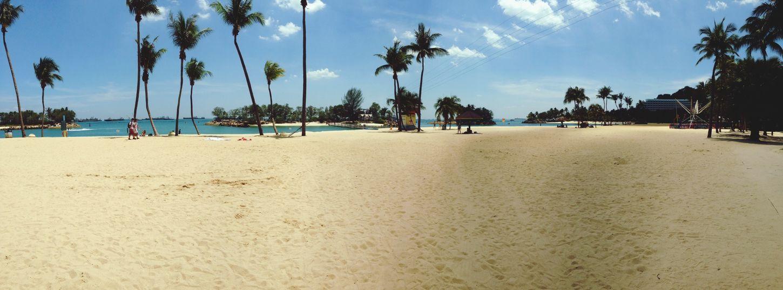 Beauty of my journey life BeachSingapore TravelYOLO ✌