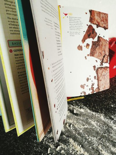 One of the best kinds of books Baking Cookbook Brownies Flour Home Baking