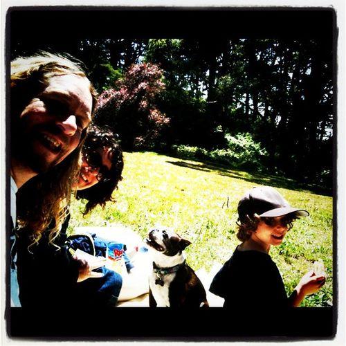 Family picnic in the park!